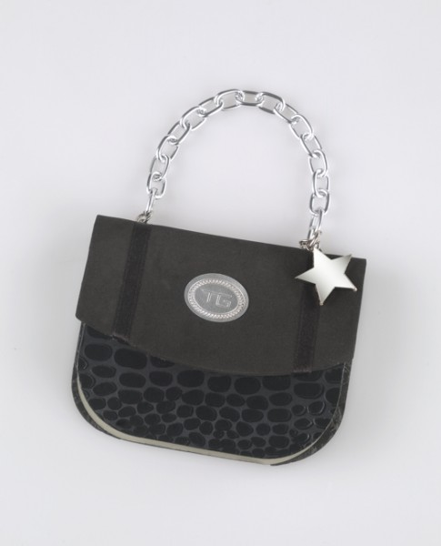Handbag Notes - Black Croco - Memopad