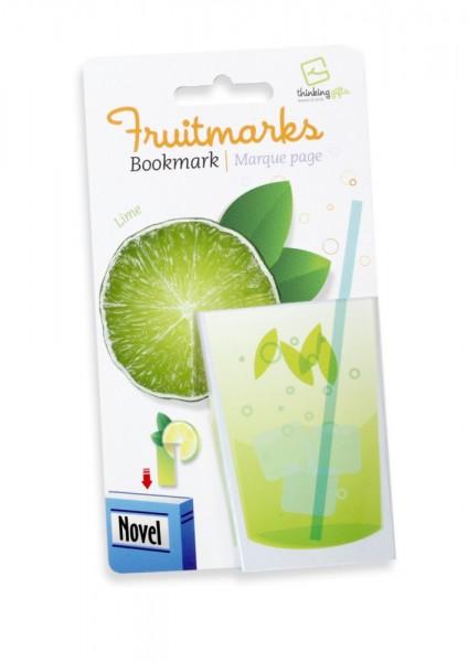 Fruitmarks Lesezeichen Limette