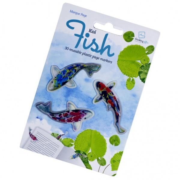 Stikki Marks Koi Fish - 30 Mini-Lesezeichen