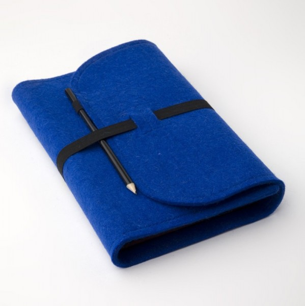 buchfilz | Buchhülle | Blau