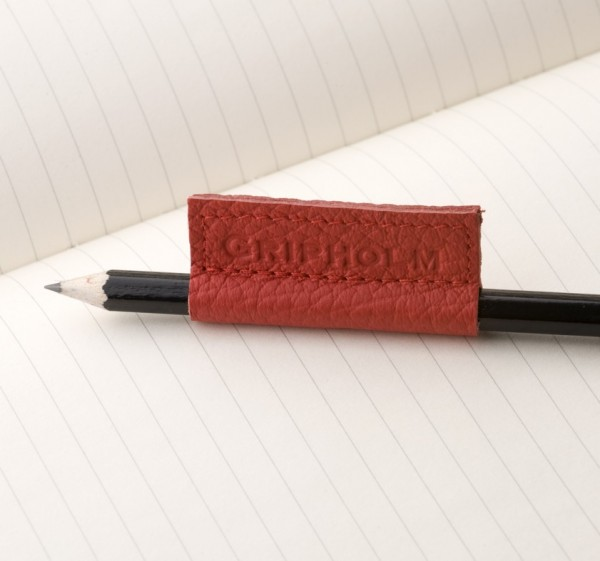 Gripholm | 2er Set Grün-Rot | Stiftmanschetten aus Leder