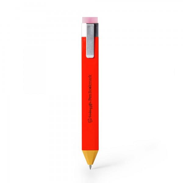 Pen Bookmark Rot - Stift und Lesezeichen in einem