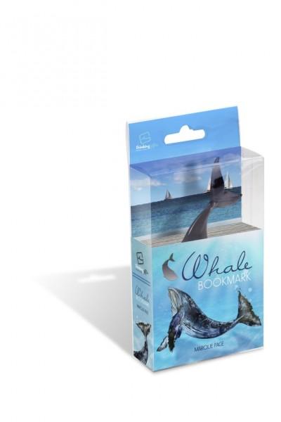 FishTales Whale - Lesezeichen Wal