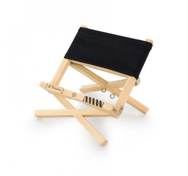 Director's Bookchair - black - Leseständer aus Holz