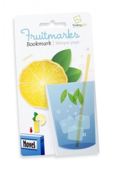 Fruitmarks Lesezeichen Zitrone