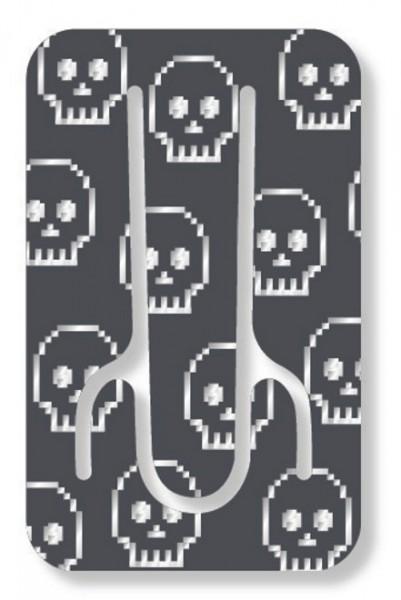 Flexistand Skull - superflacher Aufsteller für Smartphones und Mini-Tablets