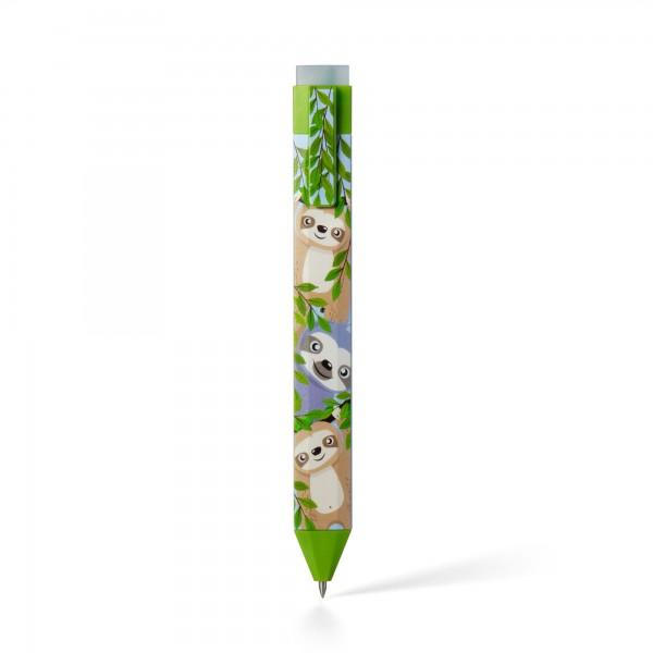 Pen Bookmark Faultier - Stift und Lesezeichen in einem