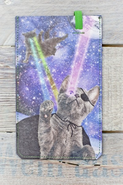 Smartphone Cover (Big) - Laser Cats
