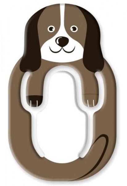 Flexistand Animal Hund - superflacher Aufsteller für Smartphones und Mini-Tablets