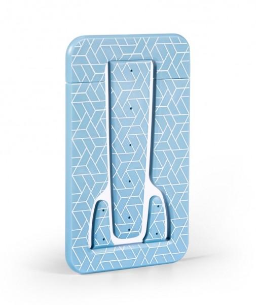 Flexistand PRO Blue Geometrical - Halter für Tablets, E-Reader & Handys