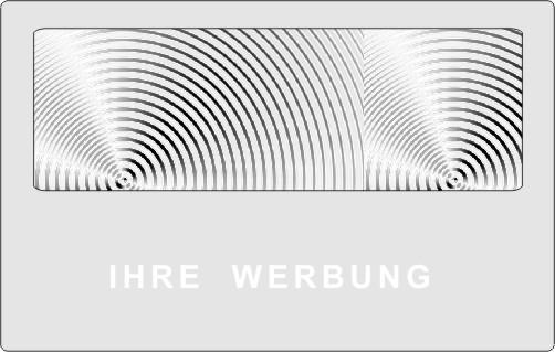 Werbelupe Visitenkarte Format HH04