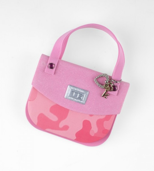 Handbag Notes - Pink Camouflage - Memopad