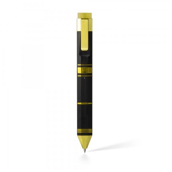 Pen Bookmark Schwarz&Gold - Stift und Lesezeichen in einem