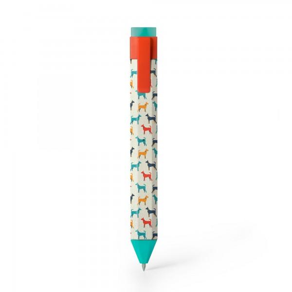 Pen Bookmark Hunde - Stift und Lesezeichen in einem