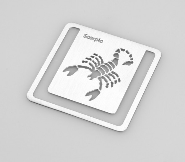 Zodiac Bookmarks Scorpio - Skorpion