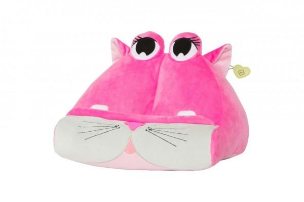 Bookmonster Katze - Lesekissen für Bücher & Tablets - Cuddly Reader