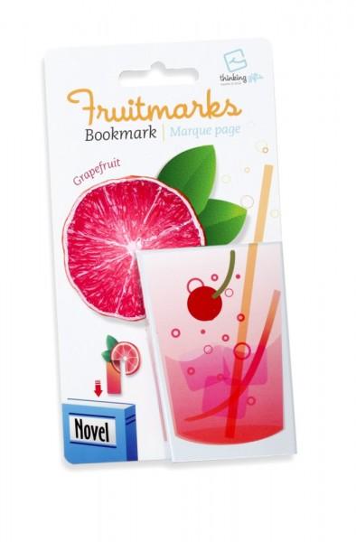 Fruitmarks Lesezeichen Grapefruit