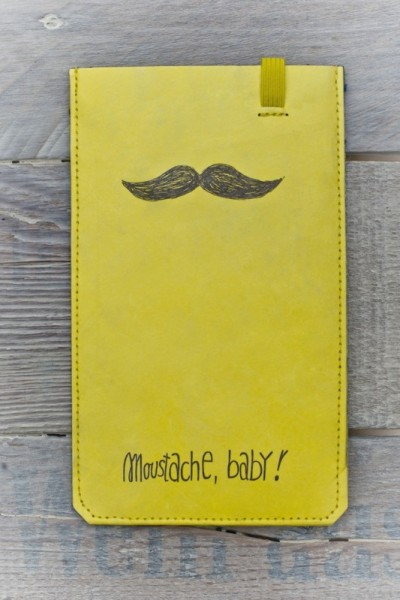 Smartphone Cover (Big) - Moustache, Baby!
