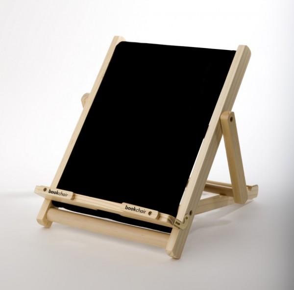 Bookchair Standard | schwarz | Buchständer aus Holz