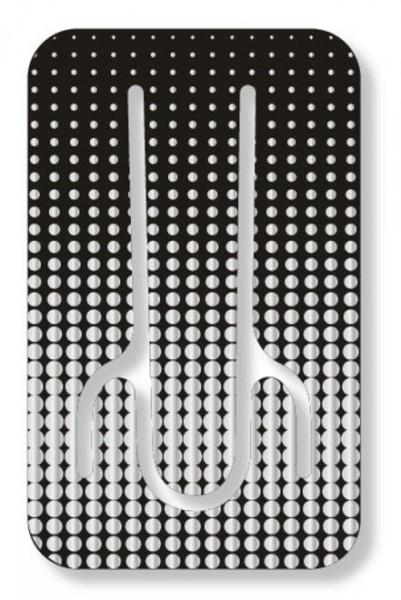 Flexistand Silver Dots - superflacher Aufsteller für Smartphones und Mini-Tablets