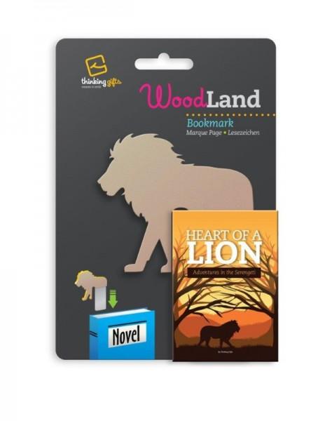Woodland Lesezeichen Lion - Löwe