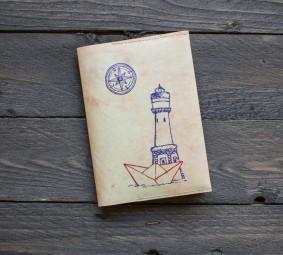 Paprcuts Reisepasshülle - Leuchtturm